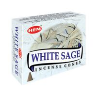 HEM Cones White Sage BOX of 12 Packets