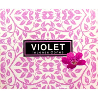 Kamini Cones VIOLET BOX of 12 Packets