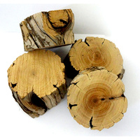 Sandalwood Log Slice 100 grams