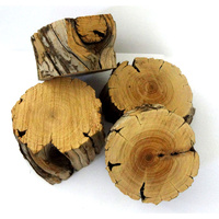 Sandalwood Log Slice 181 grams