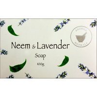 Anokha Herbals Soap NEEM & LAVENDER BOX of 12
