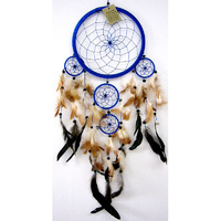 Dream Catcher BLUE BROWN Large