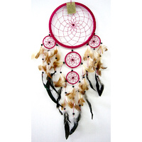 Dream Catcher PINK BROWN Large