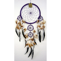 Dream Catcher PURPLE BROWN X Large