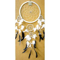 Dream Catcher WHITE WHITE X Large