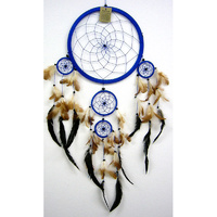 Dream Catcher BLUE BROWN X Large