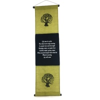 Hanging Wall TREE OF LIFE Green