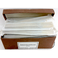 Handmade NATURAL SANDALWOOD 20g BOX of 50 Packets