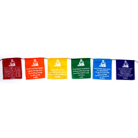 Prayer Flags BUDDHA VIVID Small 6