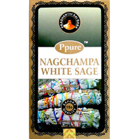 Ppure WHITE SAGE 15g BOX of 12 Packets