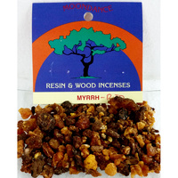 Resins Red Myrrh Granules 25g Packet