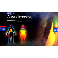 Satya AURA CLEANSING 15g BOX of 12 Packets