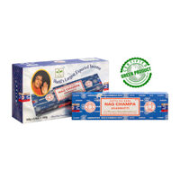 Satya NAG CHAMPA 100g BOX of 6 Packets