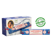 Satya NAG CHAMPA 15g BOX of 12 packets