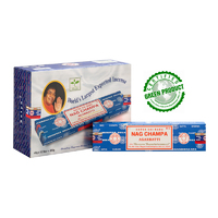 Satya NAG CHAMPA 40g BOX of 12 packets