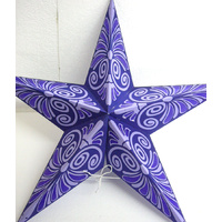 Star Hanging Lantern PURPLE MAUVE