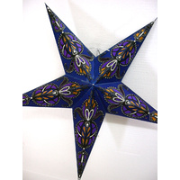 Star Hanging Lantern BLUE PURPLE