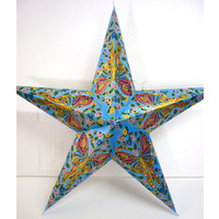 Star Hanging Lantern BUTTERFLY BLUE