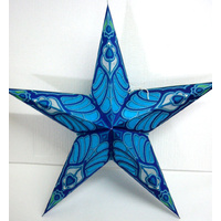 Star Hanging Lantern BLUE CROWN