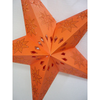 Star Hanging Lantern ORANGE ORANGE FLOWERS