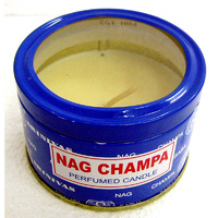 Satya Travel Candle NAG CHAMPA Single Tin