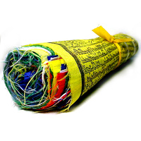 Tibetan PRAYER FLAGS LARGE Single Roll