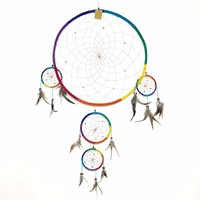 DREAM CATCHER - RAINBOW SUEDE JUMBO