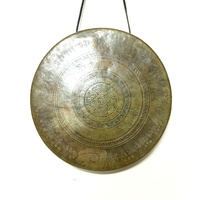 Wind GONG Brass Tibetan With Lip 1126g