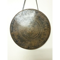 Wind GONG Brass Tibetan With Lip 1274g
