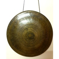 Wind GONG Brass Tibetan with Lip 4200g