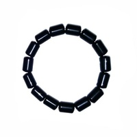 Barrel Bracelet BLACK OBSIDIAN