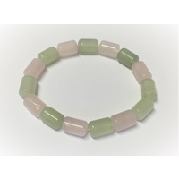 Barrel Bracelet ROSE & NEW JADE