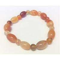Ball & Barrel Bracelet CARNELIAN