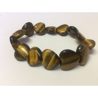 Heart Bracelet TIGER EYE
