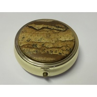 Pill Box PICTURE JASPER 50mm