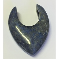 U-Pendant LAPIS LAZULI drilled side hole