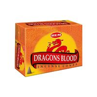 HEM Incense Cones Dragons Blood BOX of 12 Packets