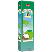 HEM Incense Garden COCONUT 65g BOX of 6 Packets