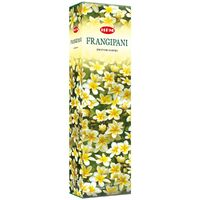 HEM Incense Garden FRANGIPANI 65g BOX of 6 Packets