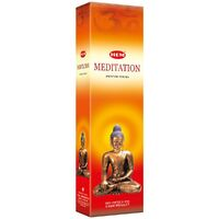 HEM Incense Garden MEDITATION 65g BOX of 6 Packets