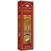 HEM Incense Garden PRECIOUS CHANDAN 65g BOX of 6 Packets