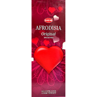HEM Incense Hex APHRODISIA 20 Stick BOX of 6.5 Packets