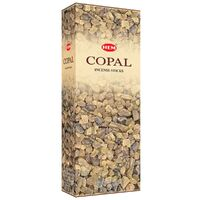 HEM Incense Hex COPAL 20 stick BOX of 6.5 Packets