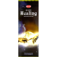 HEM Incense Hex DIVINE HEALING 20 stick BOX of 6.5 Packets