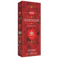 HEM Incense Hex FRANKINCENSE 20 stick BOX of 6.5 Packets
