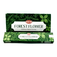 Hem Masala FOREST FLOWER Incense 15g BOX of 12 Packets