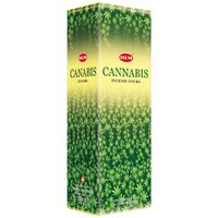 HEM Incense Square CANNABIS 8 stick BOX of 25 Packets
