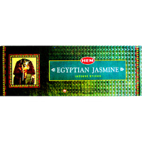 HEM Incense Square EGYPTIAN JASMINE 8 stick BOX of 25 Packets