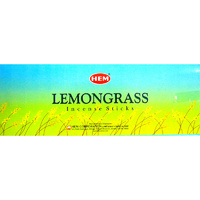 HEM Incense Square LEMONGRASS 8 stick BOX of 25 Packets