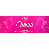 HEM Incense Square OPIUM 8 stick BOX of 25 Packets